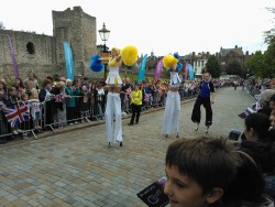 At the Olympic Torch Relay in Rochester